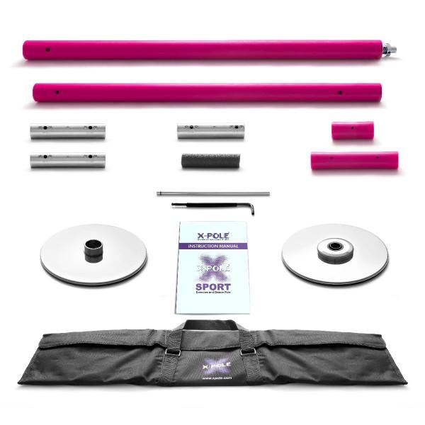 X-Pole Sport pulverbeschichtet Pink